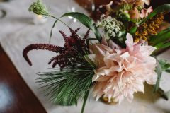 Here is an assortment of our favorite lush fall wedding flowers by Nectar and Root, Vermont wedding florist.