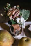 Here is an assortment of our favorite lush spring wedding flowers by Nectar and Root, Vermont wedding florist.