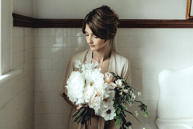 by Nectar and Root, Vermont wedding florist.